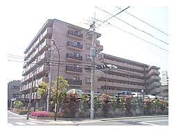 京都府京都市下京区梅小路高畑町の賃貸マンションの外観