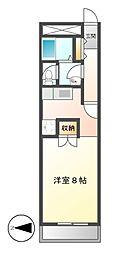 A−WING[5階]の間取り
