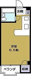 ロータリー40[3階]の間取り