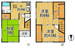 大正駅 980万円