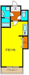 ピスケス花園[2階]の間取り