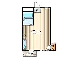 橘マンション[3階]の間取り