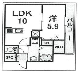 (仮称)伊丹市・大鹿へーベルメゾン[202号室]の間取り