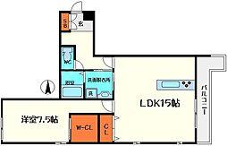 仮称)ディアコートM[1階]の間取り