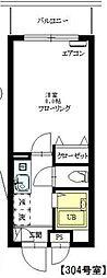 クレスティ砧[3階]の間取り