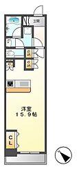 ロイヤルパークス千種[5階]の間取り