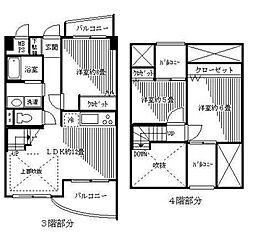 エヌエフ東戸塚[3階]の間取り