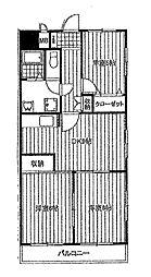 ガーデンヒルズ[2階]の間取り