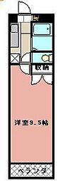 KMマンション八幡駅前III[517号室]の間取り