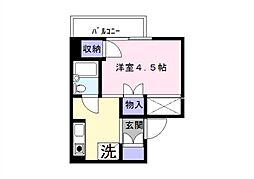 ARECX五井[2S5号室]の間取り