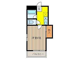 ピュアライフ[3階]の間取り