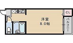 セラ鶴ヶ丘[406号室]の間取り