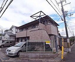 京都府京都市左京区岩倉南桑原町の賃貸アパートの外観
