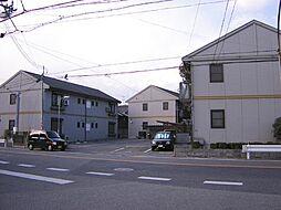 大阪府泉大津市神明町の賃貸アパートの外観