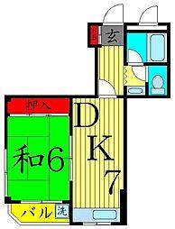 エクセル青山[3階]の間取り