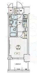 JR東海道・山陽本線 兵庫駅 徒歩9分の賃貸マンション 9階1Kの間取り