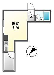 エクセルアビタシオン[5階]の間取り