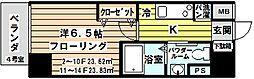 レジュールアッシュ北大阪グランドステージ[1204号室]の間取り