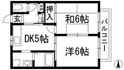 サモワールド[2階]の間取り