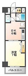 第10関根マンション[4階]の間取り