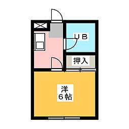 メゾン大連[2階]の間取り