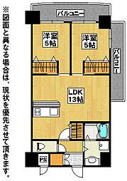 ロイヤルノースナイン[10階]の間取り