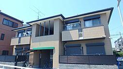 大阪府大阪市阿倍野区文の里4丁目の賃貸アパートの外観