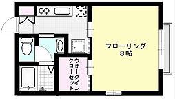 ウィズダム[102号室]の間取り