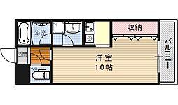 ヴァンヴェール35[506号室号室]の間取り