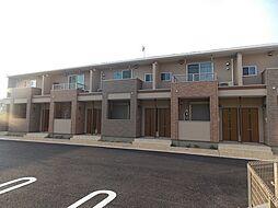 埼玉県越谷市蒲生2丁目の賃貸アパートの外観