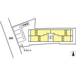 ライム ライト 岐阜[1階]の外観