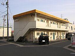 鳥取県米子市旗ヶ崎7丁目の賃貸アパートの外観