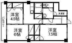 レジデンス近江[3階]の間取り