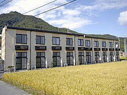 広島県福山市山手町7の賃貸アパートの外観
