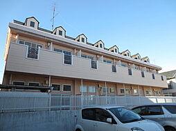埼玉県ふじみ野市清見2丁目の賃貸アパートの外観