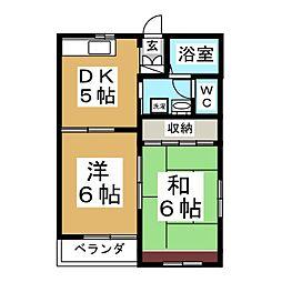 エクセルシャトーIII[2階]の間取り