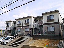 福岡県福岡市東区若宮3丁目の賃貸アパートの外観