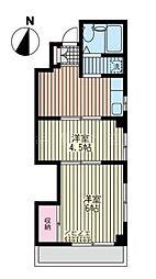 第7住吉ビル[3階]の間取り