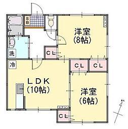 [テラスハウス] 神奈川県横浜市中区山手町 の賃貸【/】の間取り