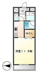 Casoneasso(カゾーネアッソ)[11階]の間取り