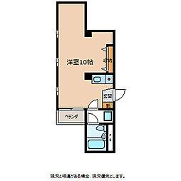 仲ノ町片桐屋ビル[4階]の間取り