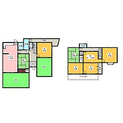 [一戸建] 愛知県名古屋市天白区池場5丁目 の賃貸【/】の間取り