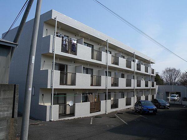 ポンピエール桜ヶ丘A[3f号室]の外観