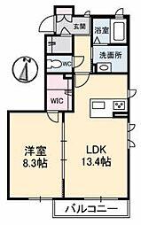 (仮)ガーデンズK B棟[1階]の間取り