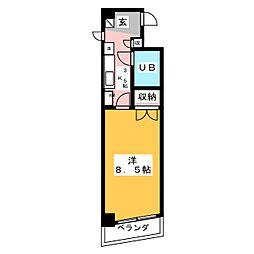 エトワール青森第1[6階]の間取り