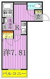 ファイネス梅田A棟[2階]の間取り