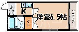 広島県広島市安芸区矢野西3丁目の賃貸マンションの間取り