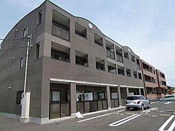 群馬県高崎市下中居町の賃貸マンションの外観