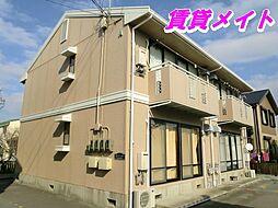 三重県四日市市南富田町の賃貸アパートの外観