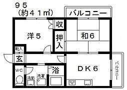エトワールすみいち[701号室号室]の間取り
